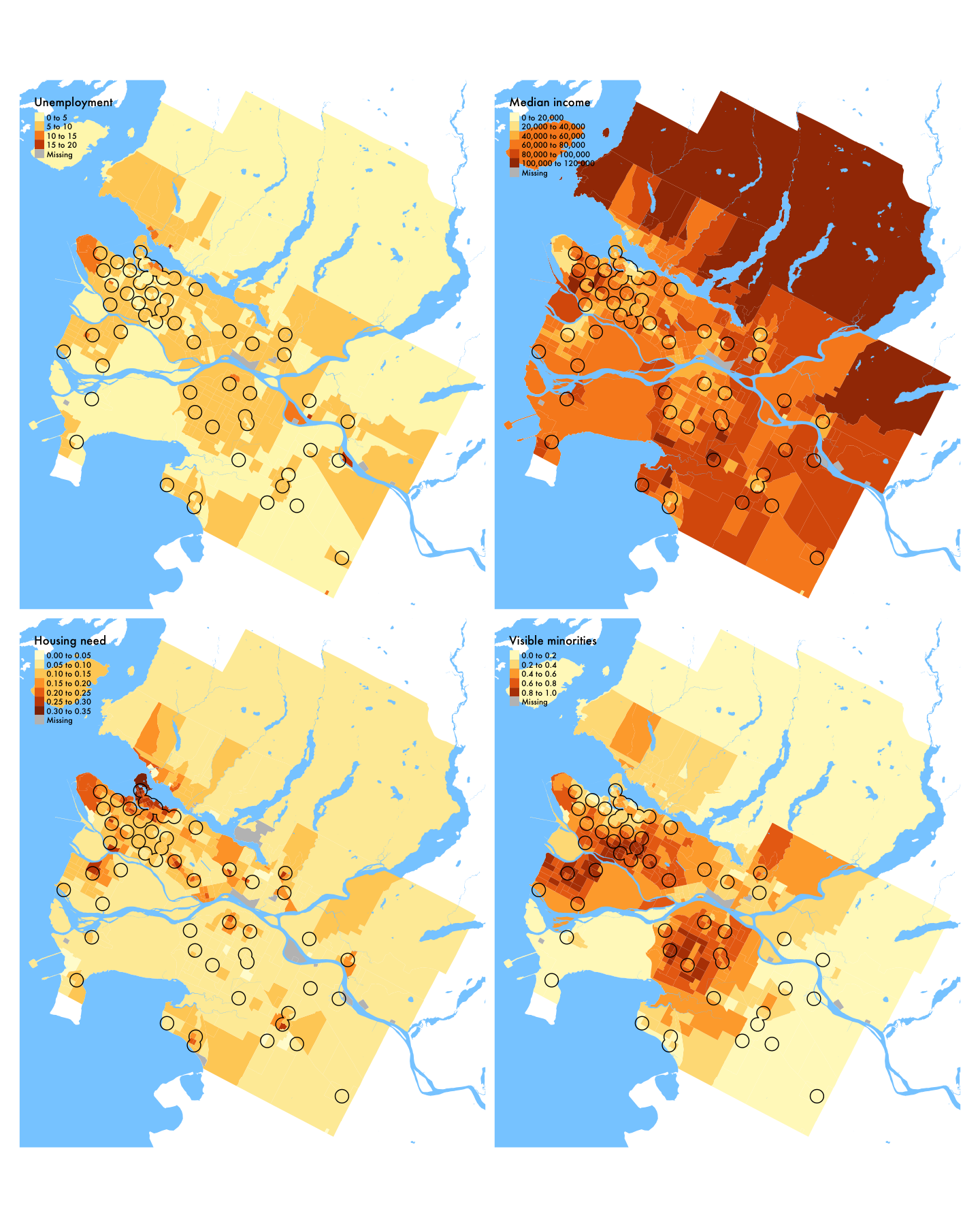 Demographic variables in Vancouver (region), 2016